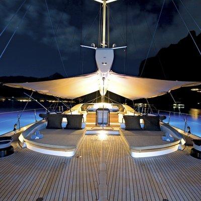 Palmira Yacht Deck - Night