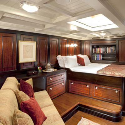 Shamrock V Yacht Master cabin
