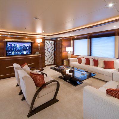 Latitude Yacht Main Salon