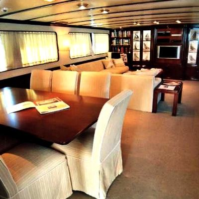 India Yacht Dining Table