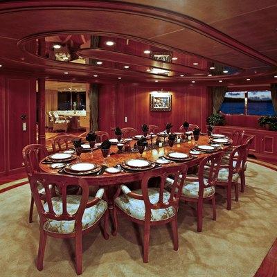 Te Manu Yacht Dining Room