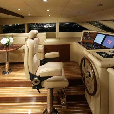 Dream Yacht Pilothouse - Side View