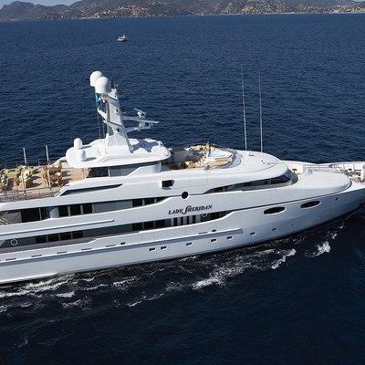 Lady Sheridan Yacht Running Shot - Profile