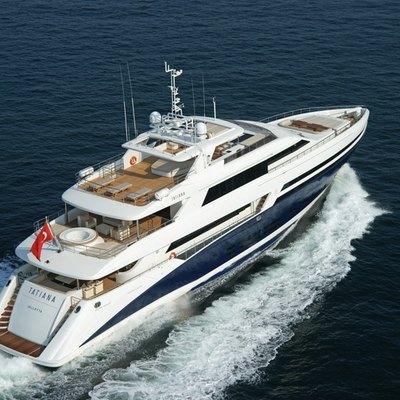 Tatiana I Yacht Underway