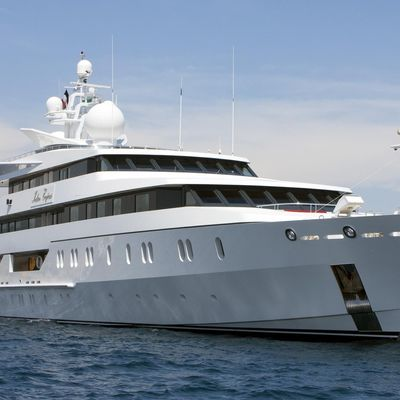 Neom Yacht At-anchor