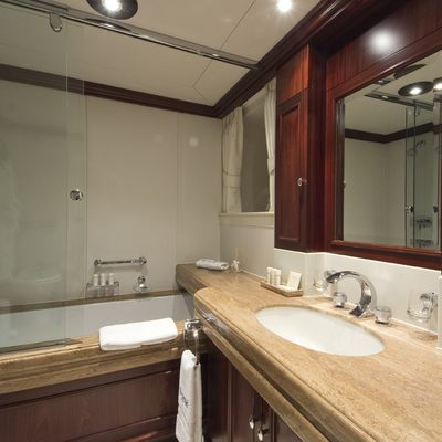 Legend Yacht VIP Bathroom