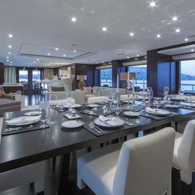 Revelry Yacht Main Salon & Formal Dining