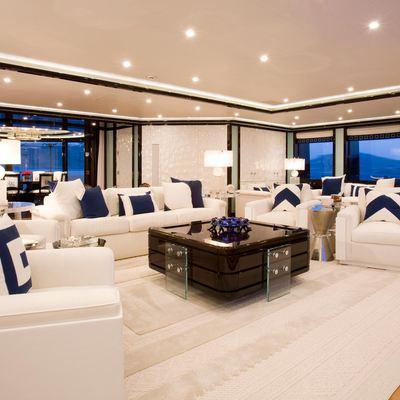 Alfa Nero Yacht Main Salon - Seating