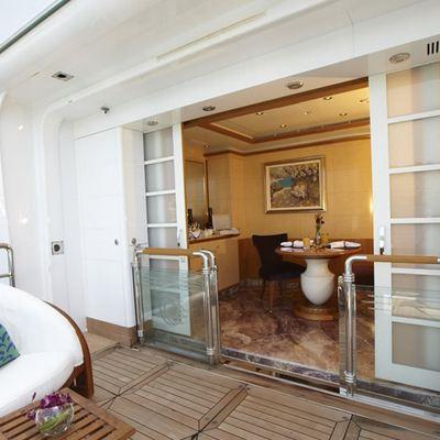 Pegasus VIII Yacht Master Balcony