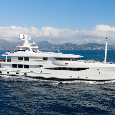 Spirit Yacht Running Shot - Profile