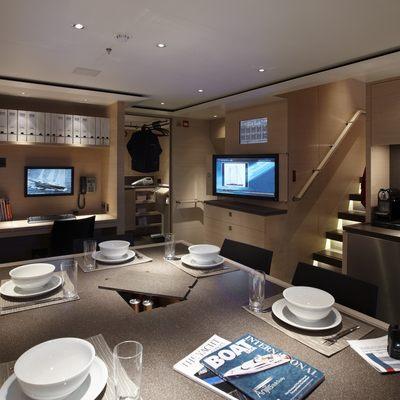 Twizzle Yacht Dining Salon