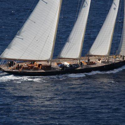 Atlantic Yacht Running Shot - Profile