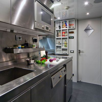 Seven S Yacht Galley