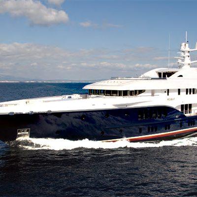 Sycara V Yacht Running Shot - Main Profile