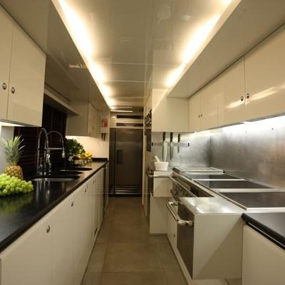 Lionshare Yacht Galley