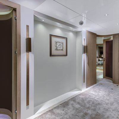 Liquid Sky Yacht Hallway
