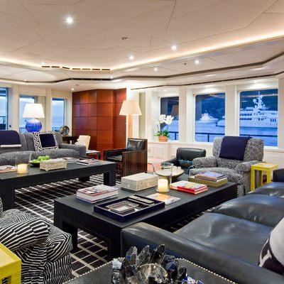 Diamond Yacht Main Saloon Aft View