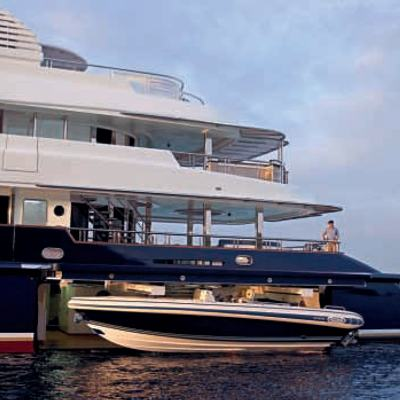 Sycara V Yacht Tender Storage