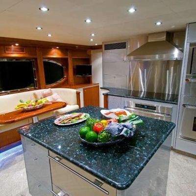 Far From It Yacht Galley