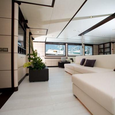 Michka V Yacht Interior Seating