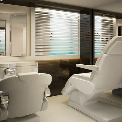 Nautilus Yacht Onboard Hair Salon