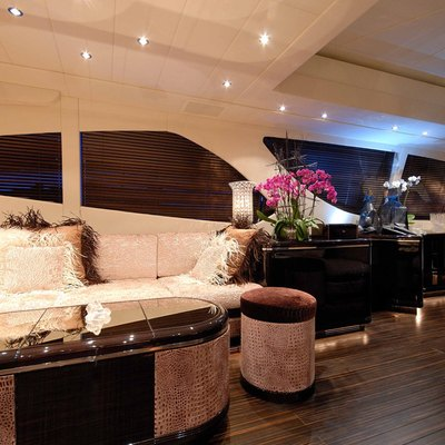 African Cat Yacht Saloon - Seating