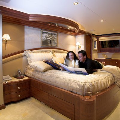Nicole Evelyn Yacht Master Stateroom