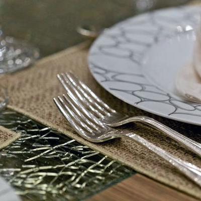 O'Pati Yacht Interior Dining Detail