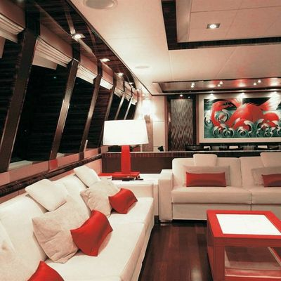 Dragon Yacht Salon Seating