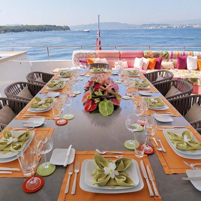 Ohana Yacht Exterior Dining Table Set