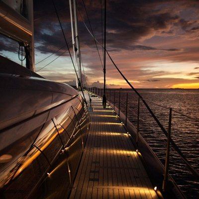 Vertigo Yacht Terrace - Night