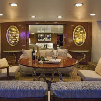 Sirahmy Yacht Aft Deck
