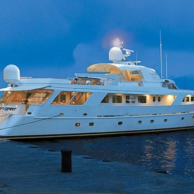 India Yacht Moored