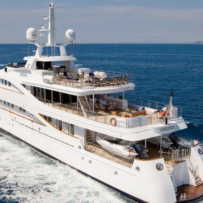 Lou Spirit Yacht Running Shot - Rear View