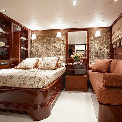 Iraklis L Yacht Stateroom