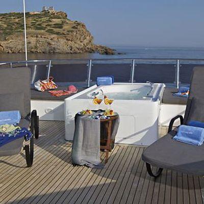 Lady Ellen Yacht Sun Bathing