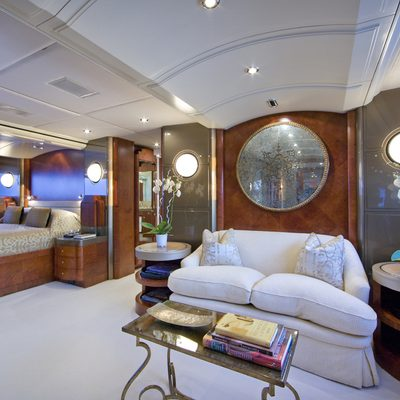 Silver Dream Yacht Master Stateroom - Lounge