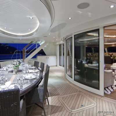 Hemisphere Yacht View Inside