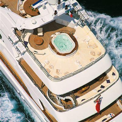 More Yacht Running Shot - Jacuzzi