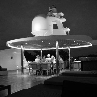 Dhaainkan'baa Yacht Exterior Dining