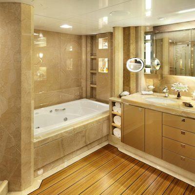 Sycara V Yacht Guest Bathroom