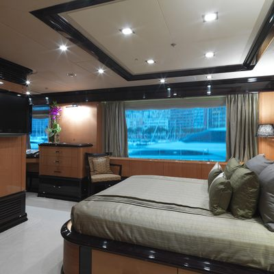 Meamina Yacht Third Guest Stateroom