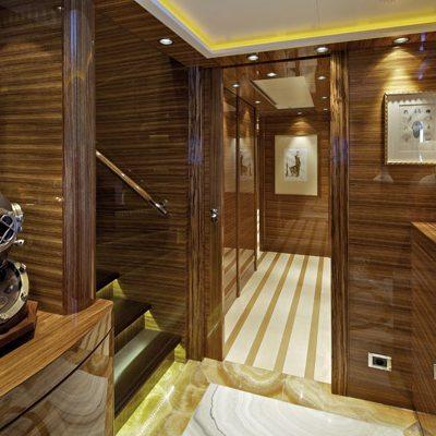 Mia Rama Yacht Hallway