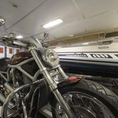 Princess Iolanthe Yacht Garage