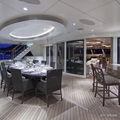 Hemisphere Yacht Aft Deck Area