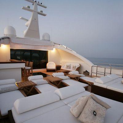Namaste 8 Yacht Bridge Deck - Night
