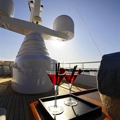 Berzinc Yacht Upper deck