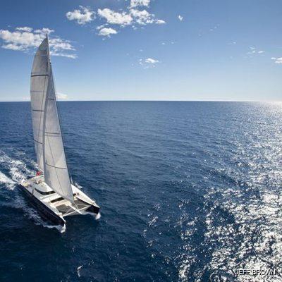 Hemisphere Yacht Running Shot - Sails