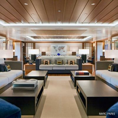 Mary-Jean II Yacht Salon - Overview