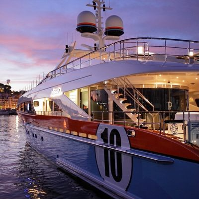 Aurelia Yacht Side View